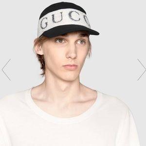 Baseball hat with Gucci headband